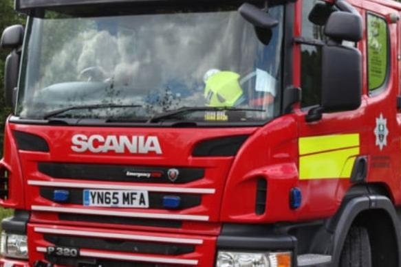 Doncaster firefighters were called out last night