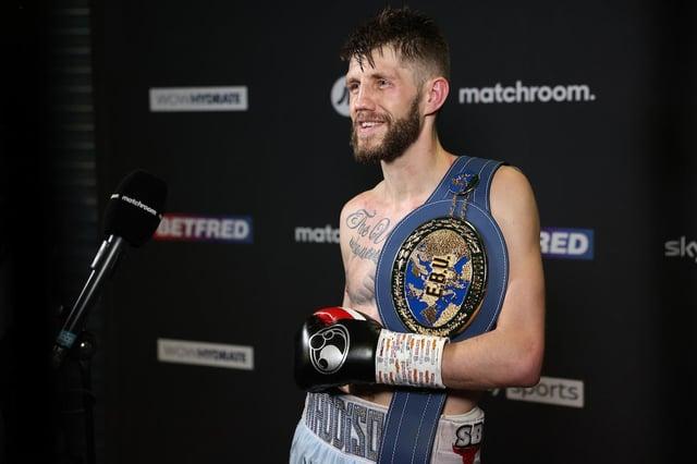 Jason Cunningham. Photo: Mark Robinson, Matchroom Boxing
