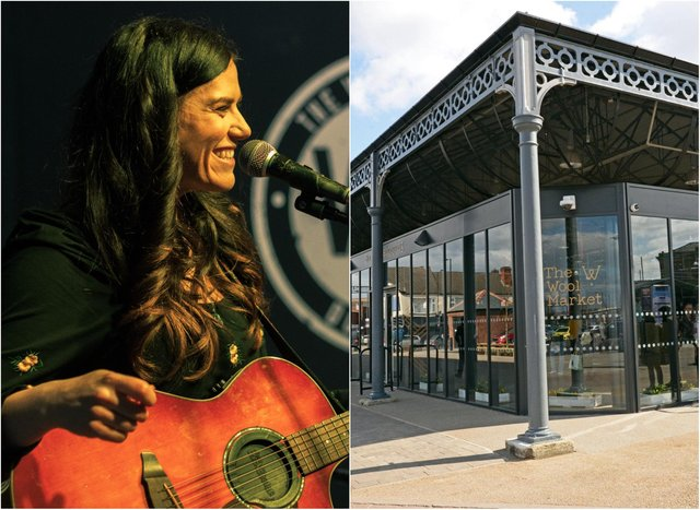 Laura Kelly will be part of the live stream concert from Doncaster Wool Market.