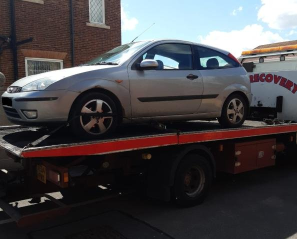 SYP seized two cars on May 6.
