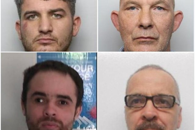 There are 31 men wanted in South Yorkshire