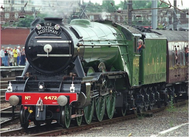 The Flying Scotsman is back in business.