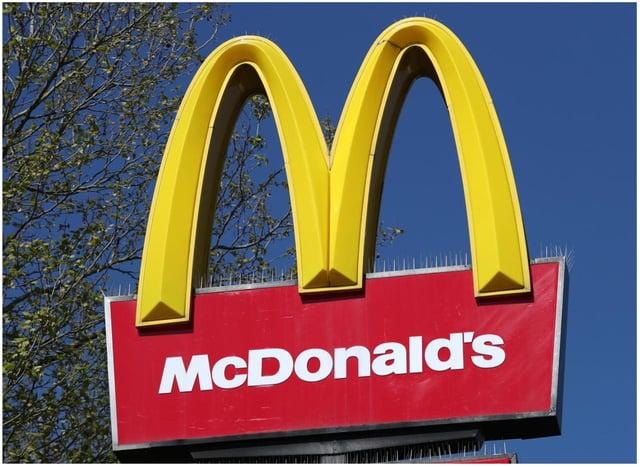 McDonald's is returning next week.