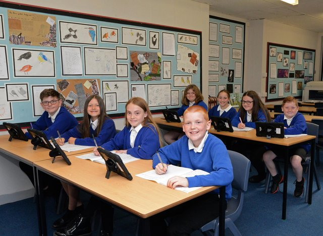 Year three and Four pupils pictured at Morley Place Academy. Picture: NDFP-15-06-21-MorleyPlace 3-NMSY