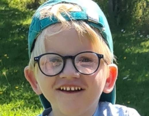Eli Smith, aged five.
