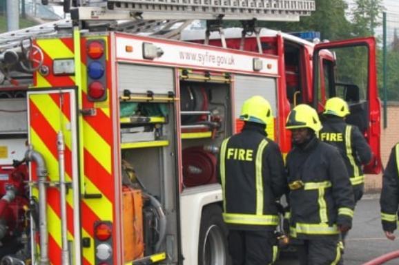 There were two arson attacks last night