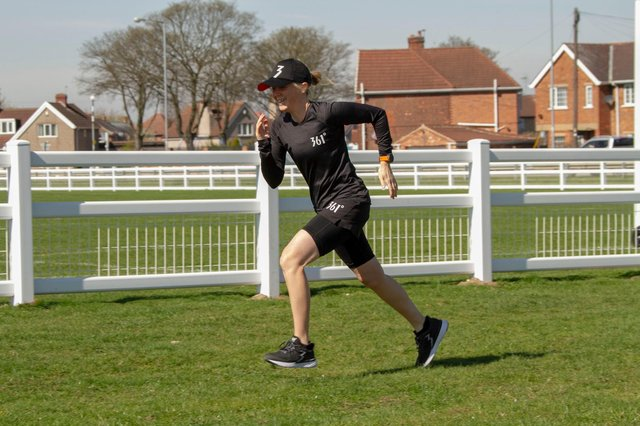 Victoria Hogg will be running 30 miles a day for 30 days.