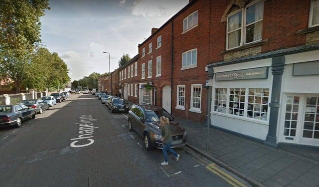 The incident happened on Chapelgate, Retford, Nottinghamshire. Pic: Google Images