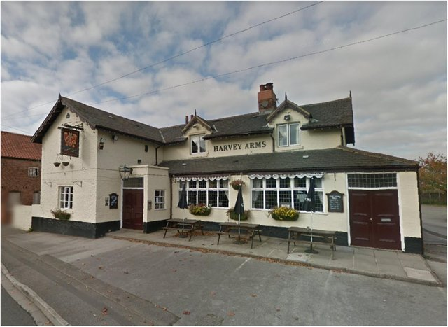 The Harvey Arms in Finningley.
