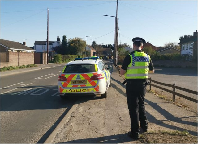 Police clamped down on speeding in Hatfield and Dunscroft.