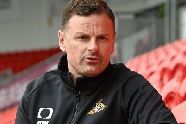 New Doncaster Rovers boss Richie Wellens. Picture: Andrew Roe/AHPIX