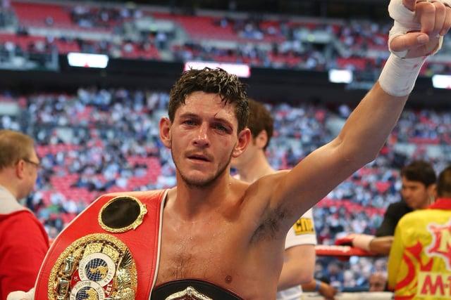 Former IBF and WBA bantamweight champion Jamie McDonnell
