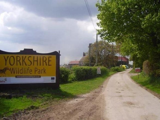 Organisers have confirmed that tonight's Safari Night concert at the Yorkshire Wildlife Park has now been cancelled due to forecasts 'showing increasingly high winds in the area'.