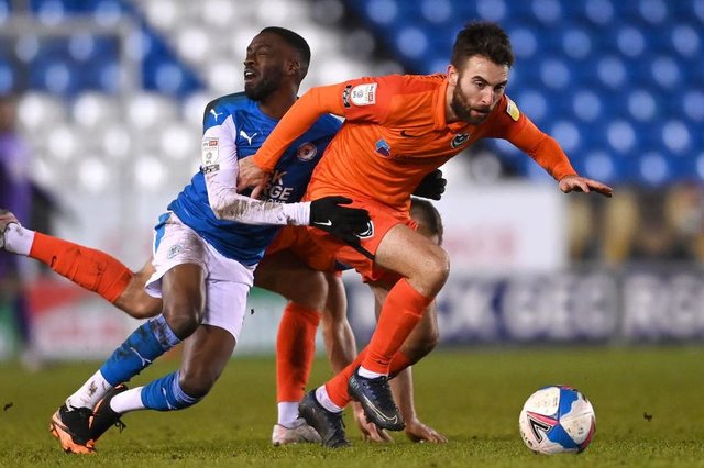 Ben Close, pictured in action for Portsmouth. Photo: Laurence Griffiths/Getty Images
