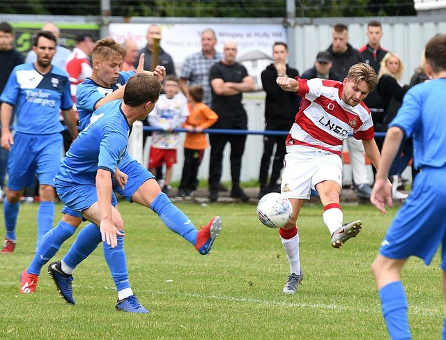 Rossington Main last entertained Rovers two years ago.