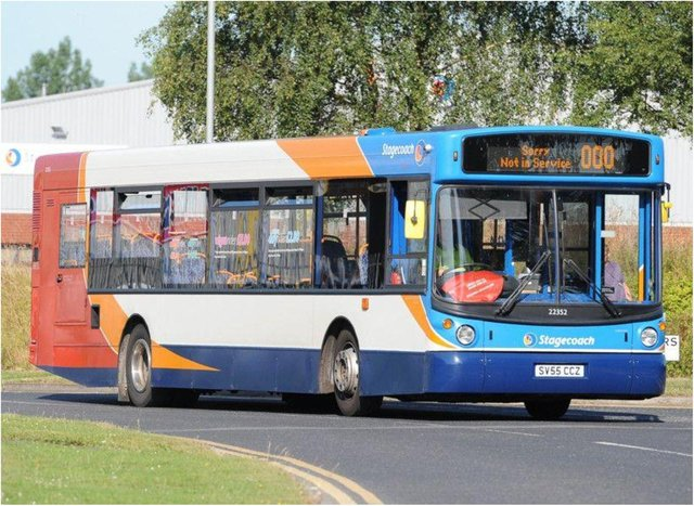 Bus services in Swinton are being diverted.