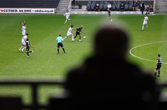 Doncaster Rovers' win-less run was extended to five games at MK Dons. Photo: Richard Heathcote/Getty Images