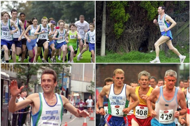 Click through this article to see Doncaster runners in the 1990s and 2000s.