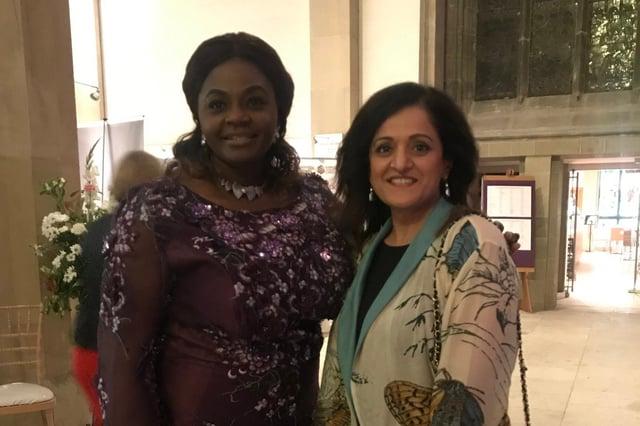 Dolly Agoro and Akeela Mohammed.