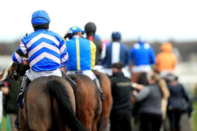 Runners and riders at Doncaster. Photo by Mike Egerton - Pool/Getty Images