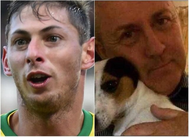 Emiliano Sala and David Ibbotson were on board the plane which crashed in the Channel in January 2019.