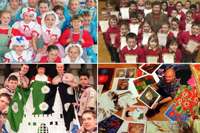 From pantos to art galleries there was plenty going on in Decembers past.