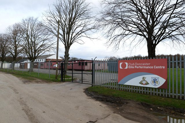 Doncaster Rovers training ground at Cantley Park