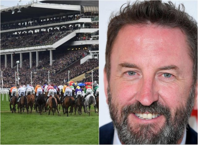 Comedian Lee Mack was among those who displayed COVID-19 symptoms after attending the Cheltenham Festvial. (Photo: Getty).