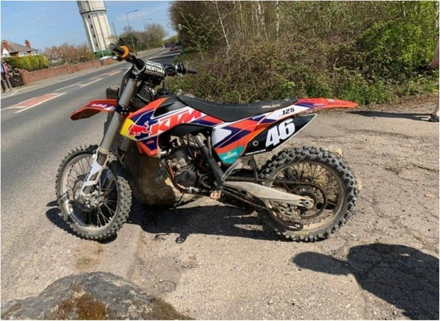 The bike was seized by police in Conisbrough.