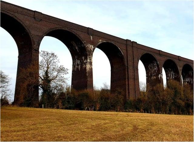 Conisbrough Viaduct.