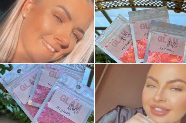 Hannah Moore and Leah Gurnhill launched Glam Dolls just a few weeks ago.
