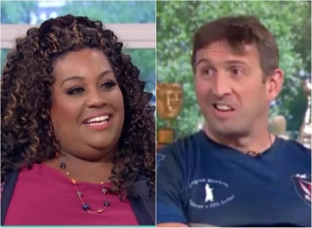 Ben Parkinson challenged Alison Hammond to jump off Mount Everest with him.