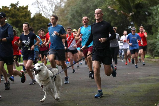 Parkrun is a free weekly 5km morning run or walk for people of all ages and abilities, with events held all over the world. Photo by Phil Walter/Getty Images