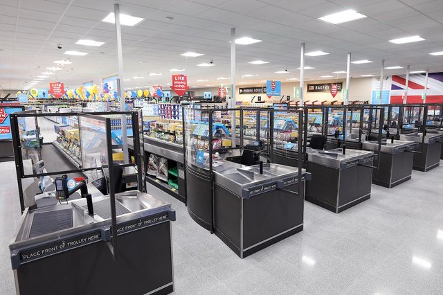 Aldi has been given a facelift