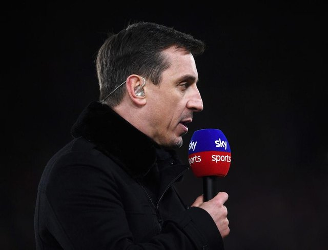 Gary Neville. Photo: Laurence Griffiths/Getty Images