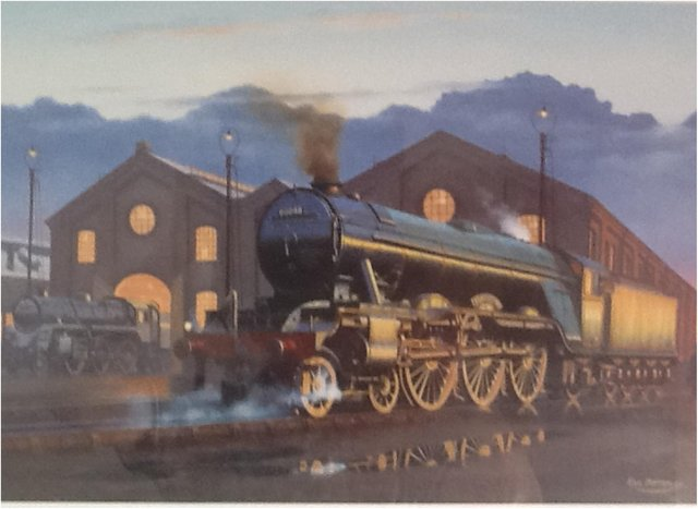 The painting Barry Lifsey would like to see installed in Doncaster's new museum.