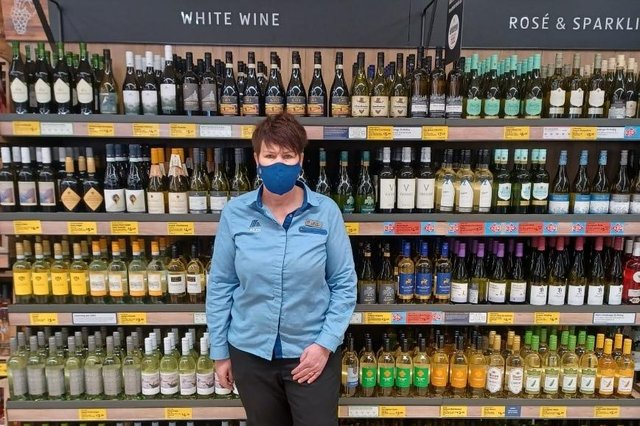 Jayne Adderley has worked for Aldi for 30 years