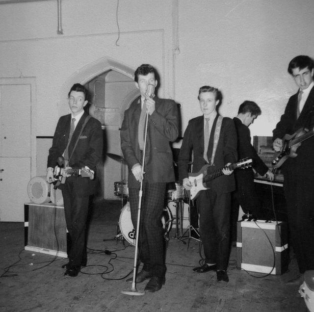 The Dominoes  in 1961