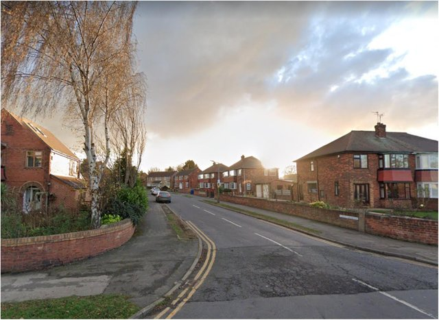 Police were called to Copley Crescent in Scawsby.