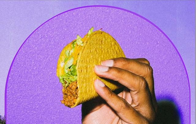 Get a free Crunchy Taco to mark England's achievements.