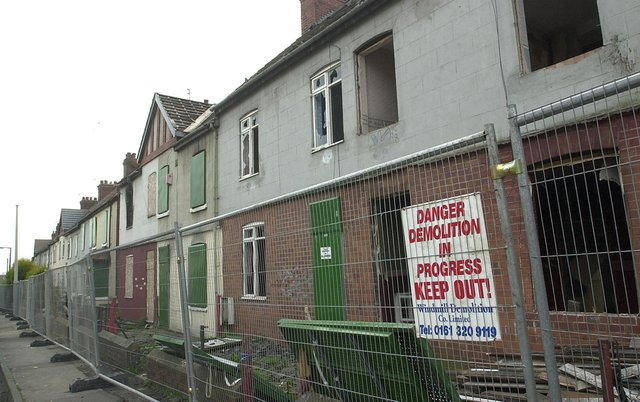 Remembering the houses which have turned to rubble and memories