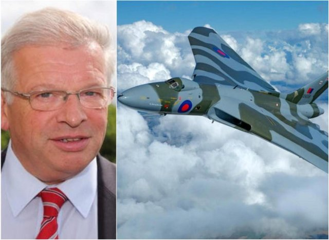 Dr Robert Pleming was instrumental in returning the Vulcan to the skies.