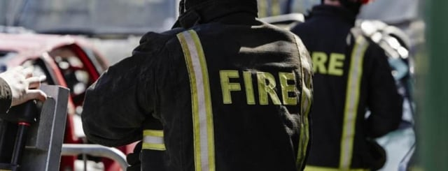 Firefighters from Thorne were in attendance