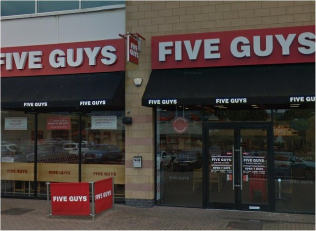 Full List Of Five Guys Restaurants Reopening For Delivery From Today Including One In Sheffield Doncaster Free Press