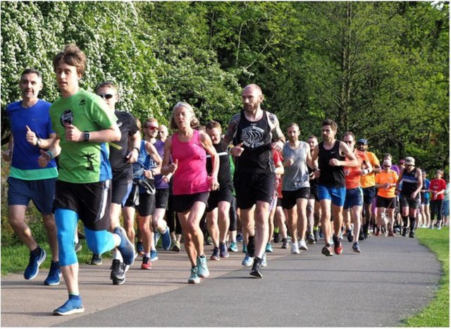 The Parkrun is yet to return to Sandall Park.
