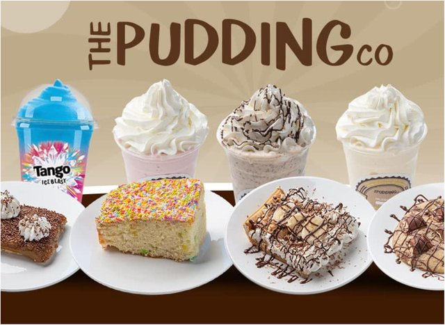 Ever fancied working in a pudding shop?