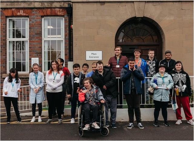 Doncaster Deaf Trust students mark Sign Language Week.