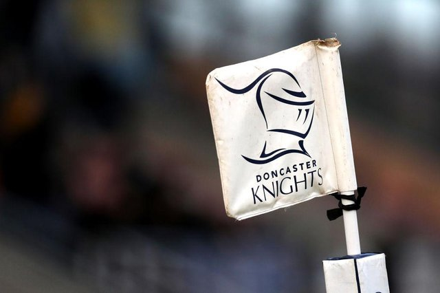 Doncaster Knights. Photo: George Wood/Getty Images