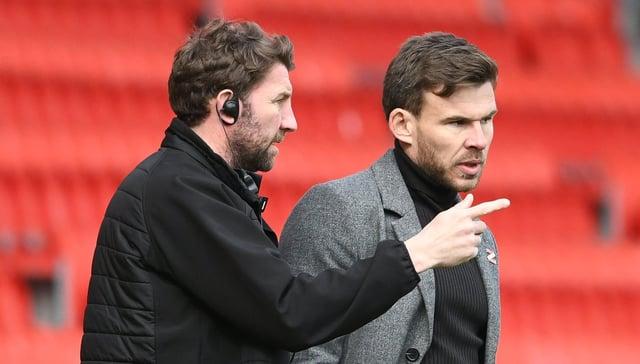 Andy Butler with Paul Gerrard