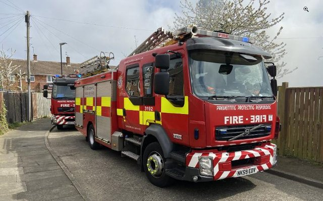 File picture of fire engines